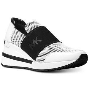 MICHAEL KORS Felix Trainer Sneakers Scuba Fabric